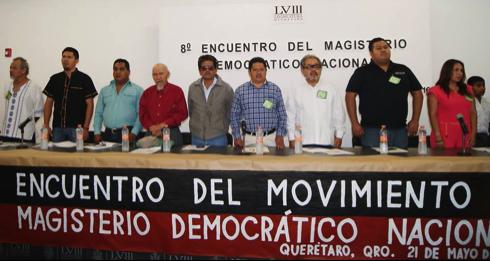 Resolutivos del Octavo Encuentro del Movimiento del Magisterio Democrático Nacional